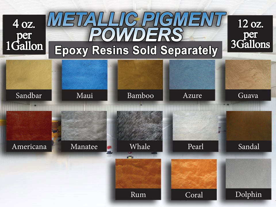Metallic Pigment Powders